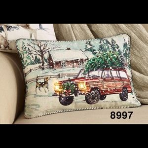 """13x18"""" LED Lighted Truck Pillow"""